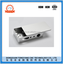 Silvery small aluminum box for electronic project