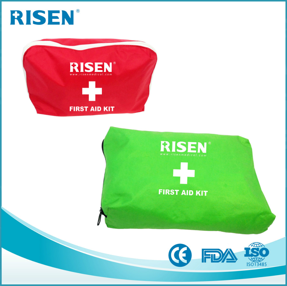 hot selling basic car meidical first aid kit bag for sale