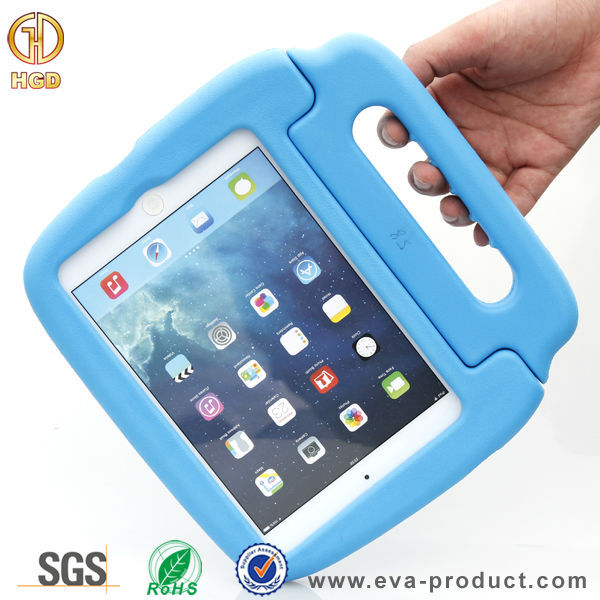 Professional manufacture wholesale Eva foam Drop proof case for iPad mini with handle
