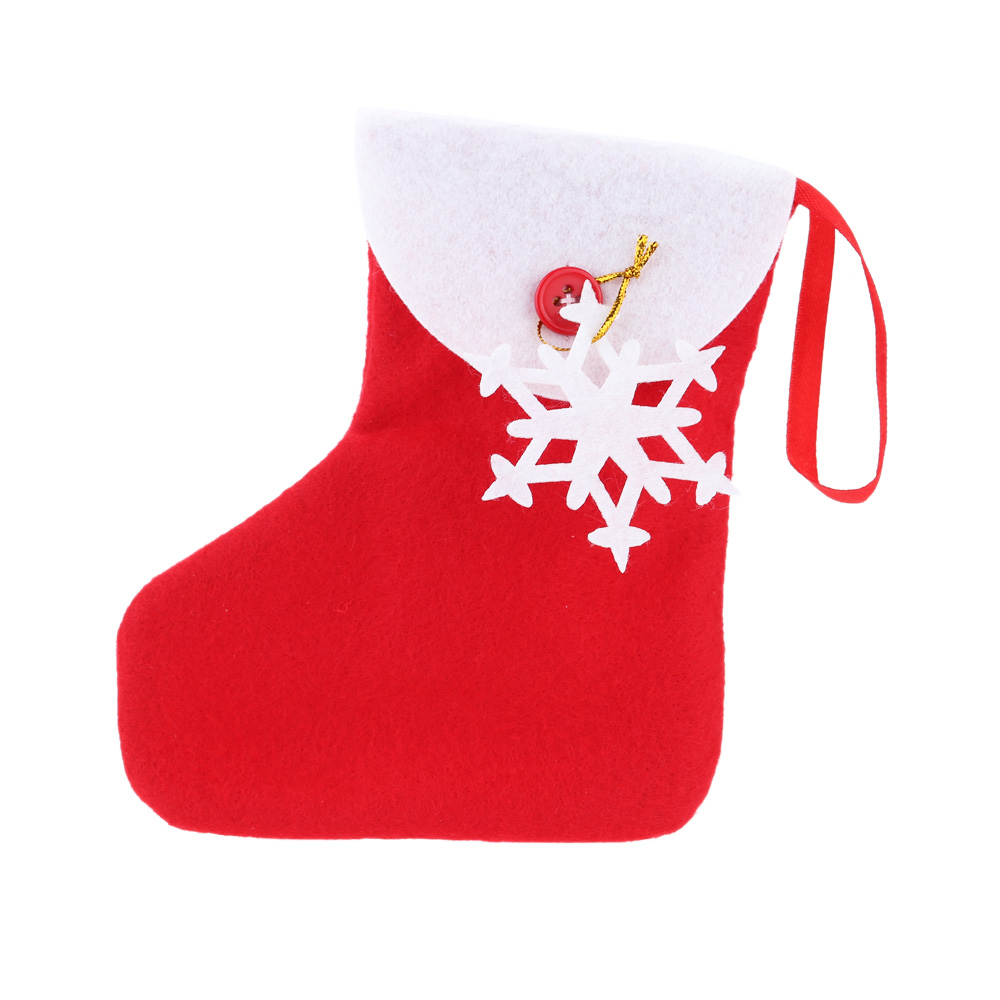 Mini XMAS Decoration Supply Great Christmas Tree Hanging Socks Cute Christmas Candy Bags Ornament Candy Pack