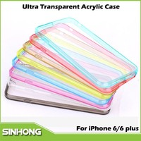 New Products Acrylic Ultra Slim Transparent iPhone6 Case,For Case iPhone 6,Case iPhone6