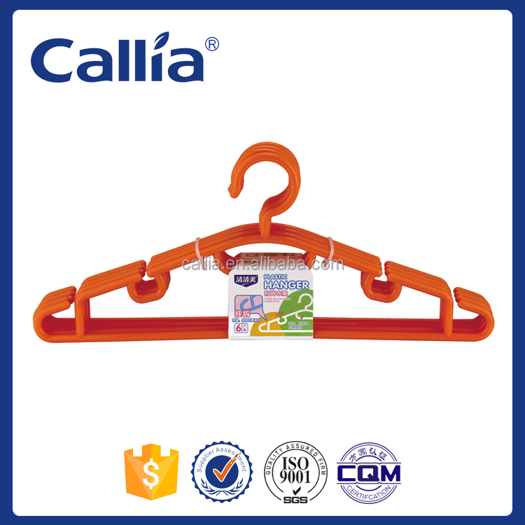 Clothes Drying Plastic Clothes Hanger Velvet Suit Hanger Plastic Coat Hanger