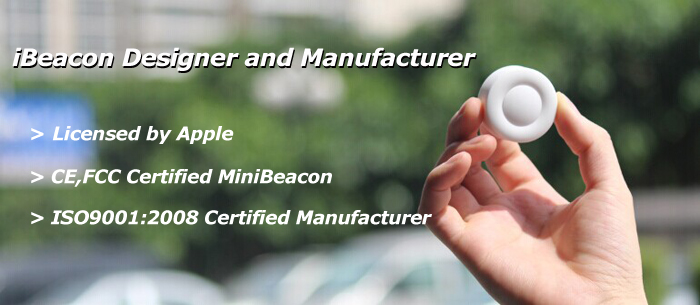 iBeacon based on CC2541 module with 1000mAH CR2477 battery