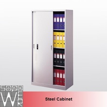 metal cupboard design sliding door filing cupboard