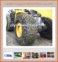 Agricultural tires ZL30 loader tyre protection chains
