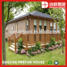 wuhan daquan light weight panel made modified container house