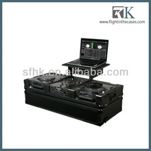 turntable flight case for mixer dj in RK