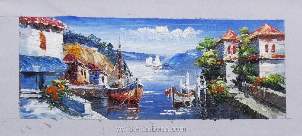 The most popular hotel decoration oil painting