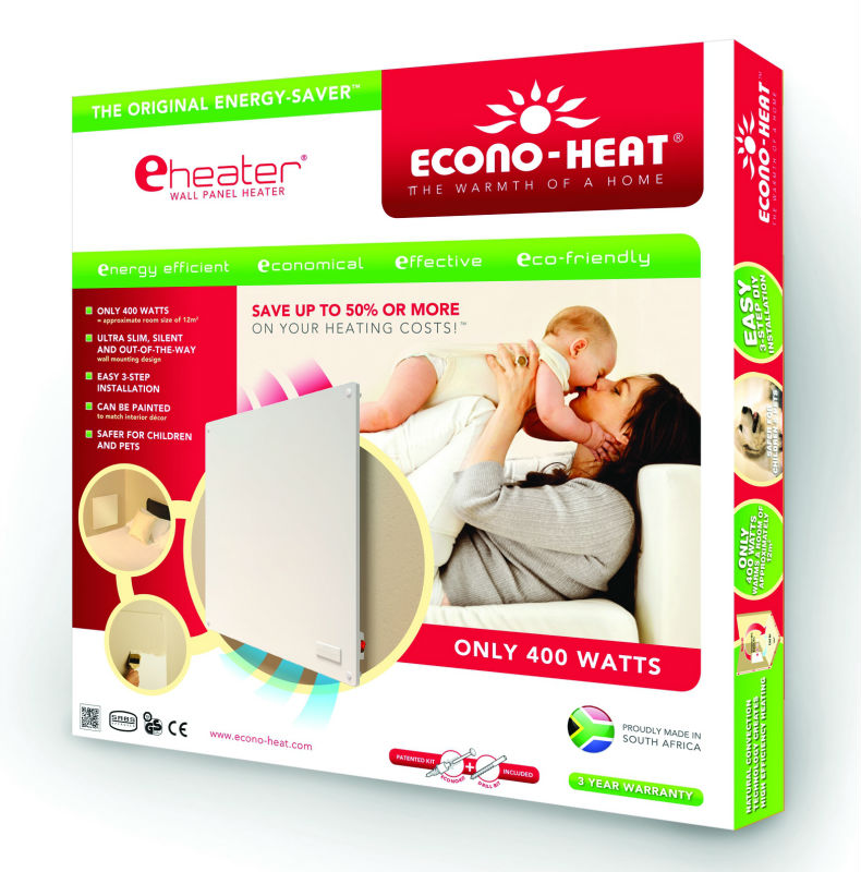 eHeater electric wall panel heater