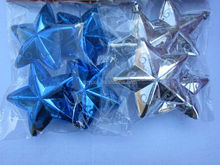 2014 New home decorative plastic wholesale star christmas decorations