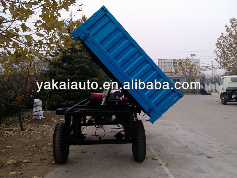 Tipper body boxed