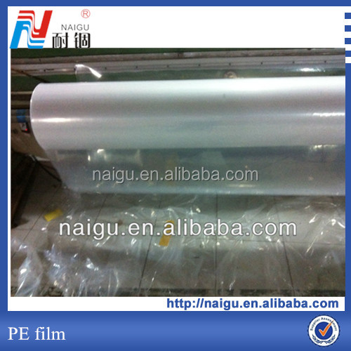reflective plastic whiteboard plastic film