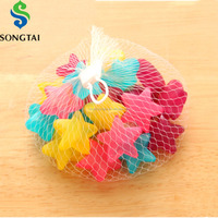 reusable ice cubes plastic colorful chilling cubes