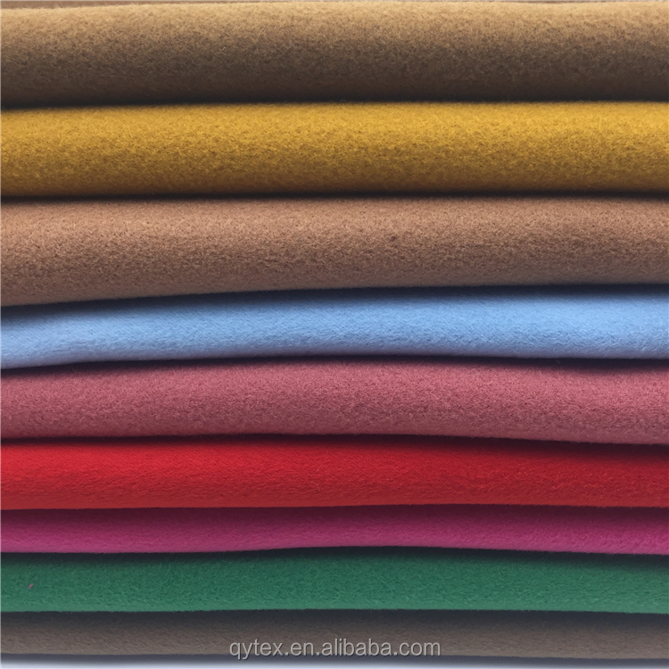 High Grade Imitation Wool Cloth Material Woolen Fabric Textile Blended for America