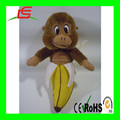 small brown banana monkey plush stuffed soft toys wholesale