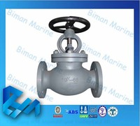 Marine pn16 Cast Iron Gate Valve with Rubber Seat