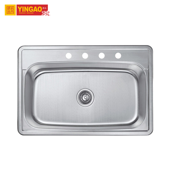 Wholesale Korea Restaurant Commercial Stainless Steel Kitchen Sink