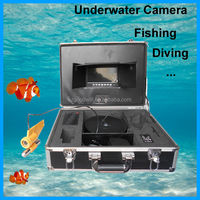 "7"" Color LCD Video Fish TV CCD Camera Fishing Finder"