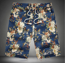 2016 lattest design custom linen/cotton mens printing beach shorts