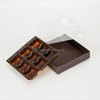 customized chocolate candy plastic blister packaging tray