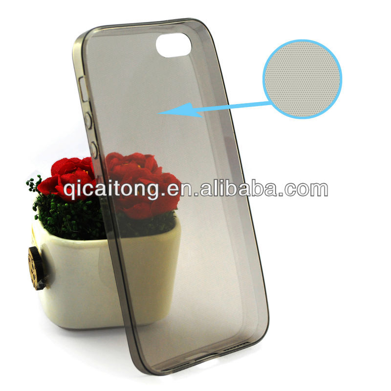 mobile phone ultrathin tpu case for Iphone 5G/S