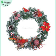 wholesale christmas wreath SX-FW6 China factory supply