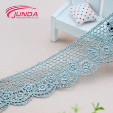 Wholesale high quality new design african white cotton lace embroidery fabric
