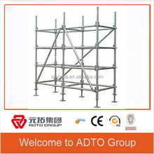 weight for scaffolding materials scaffold price with top cuplock