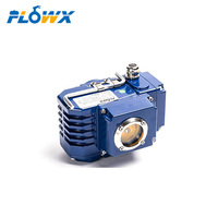 Mini AC DC 12V 240V High Torque 4-20ma Electric Rotary Actuator for butterfly ball valve