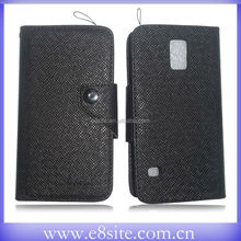 Button Leather Case For SamSung Galaxy S5