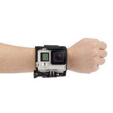 All-in-one fixed wrist strap mount new Wrist mount with screw for Gopro Hero SJ4000 Go pro Action Camera Accessory