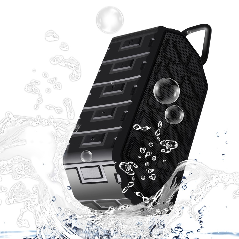 New Products Bluetooth V4.2 2016 Outdoor Tough Mini Mp3 Players Waterproof IP66 Bluetooth Speakers with our patent