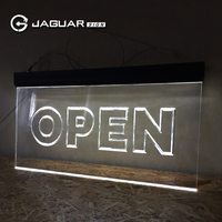wholesale exclusive design outdoor led open closed sign 24 hour led open sign