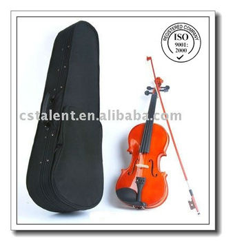 Popular Violin with Case and Strap and Rosin