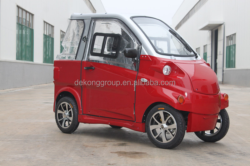2015 Newest Enclosed EEC Certificate with 4 wheels smart mini Closed Electric car
