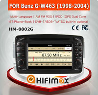 HIFIMAX WIN CE 6.0 Car DVD GPS For Mercedes Benz G W463 1998-2004 Car GPS Navigation System