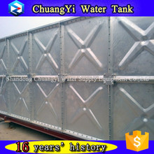 Chuangyi Supply mild steel tower water tank, hdg steel water storage tank 60m3,galvanized water tank panel