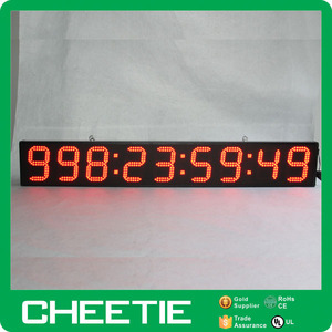 Gaint LED Wall Mounted Crossfit Digital Sports Interval Countdown Timer