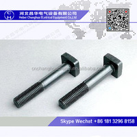 High-quality stainless steel square t head track bolts