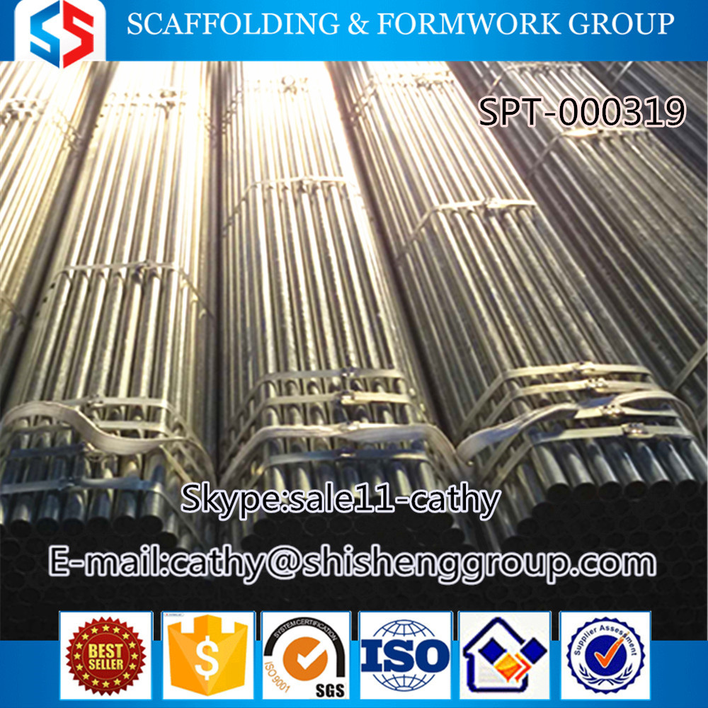 Tianjin SS group top suppliers agriculture greenhouses stainless scaffolding pipe,seamless steel pipe,water line pipe