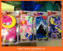 Sailor Moon Phone Case for iphone 5,2014 Newest Design Case for Iphone 5 5s 3D silicone cartoon case