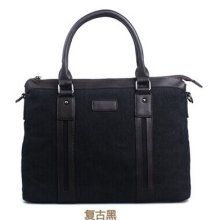 Fashion men handbag hebei factory wholesale men bag business and briefcase online shopping in China