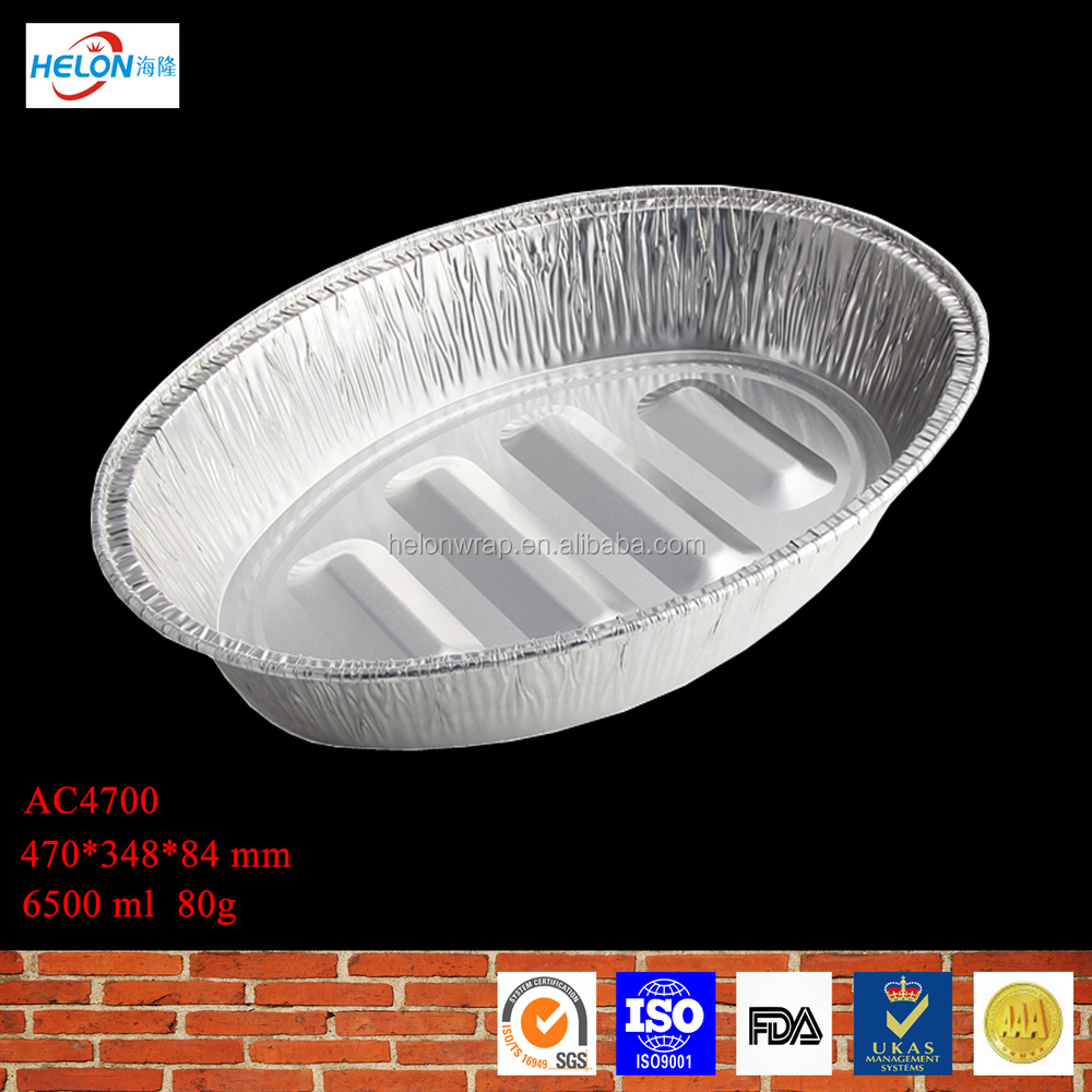 aluminium foil plate in set, aluminum foil pan, fast food box in set