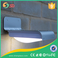 new products aluminum 24LED led solar powered porch light for outdoor garden