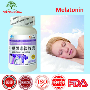 Natural Sleeping Supplement Care For Insomia Melatonin 500mg Softgels