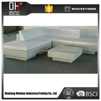 8 seaters aluminum frame rattan furniture high quality outdoor sofa set garden furniture