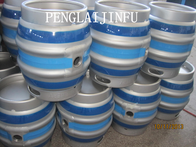 painting stainless steel beer casks