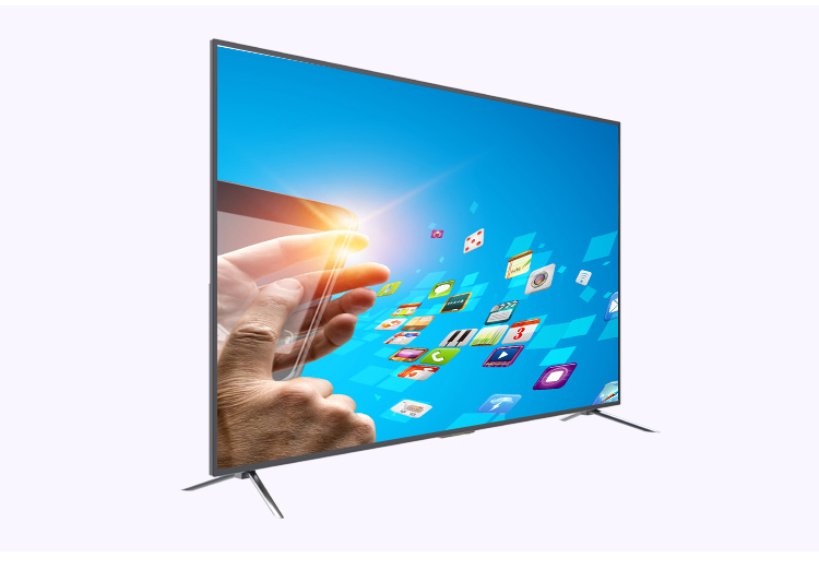 "Wholesale Big size flat screen TV 49"" 55"" 65"" 75"" 78"" television 4k, Worldcup 2018 4K UHD LED TV 65 inch smart television sets"