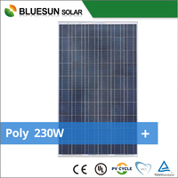 BlueSun 2015 Low price poly 230W solar cells and modules
