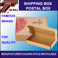 3Ply 5Ply Corrugated Mailing Package Box Postal Shipping Box for Express